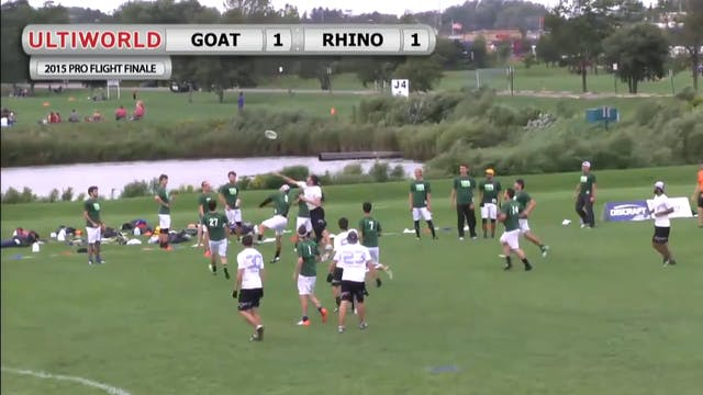 Pro Flight Finale 2015: GOAT v Rhino (M Pool)
