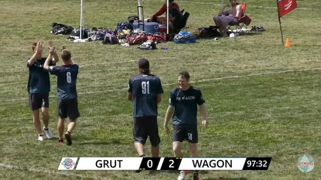 WUCC 2018: GRUT (NED) v. Pie Wagon (AUS) [Mixed Quarters]