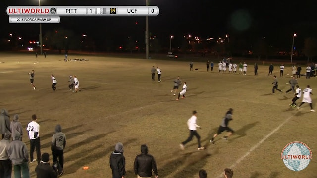 Florida Warm Up 2015: Pittsburgh v Central Florida (M)