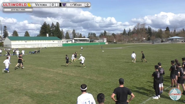 Men's Northwest Challenge 2019: #17 Washington vs Victoria (M)