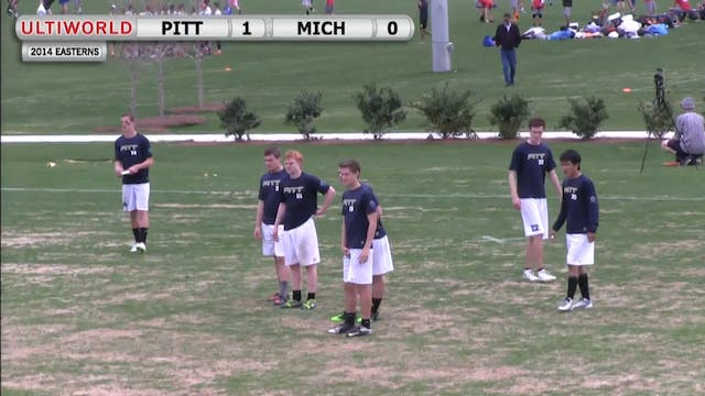 Easterns 2014: Pittsburgh vs Michigan...