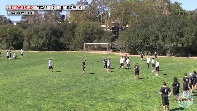 Stanford Invite 2013: Texas vs UNC-Wilmington (M)
