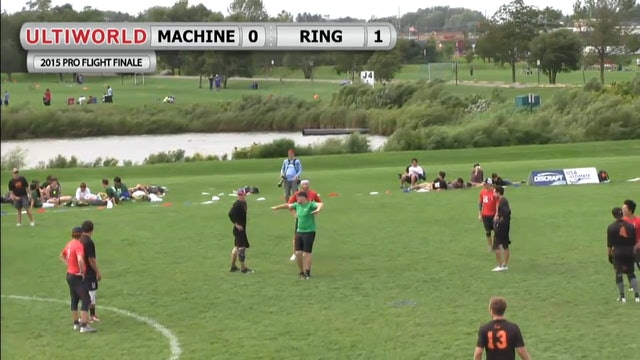 Pro Flight Finale 2015: Machine v Ring of Fire (M Pool)