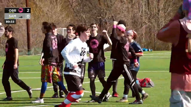 #11 Oberlin Flying Horsecows vs Samford Dogma (M, 2020 FCS D-III Tune Up)