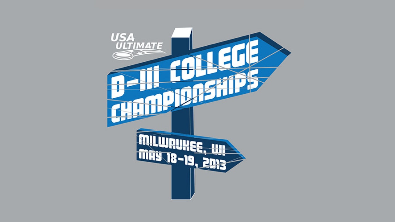 D-III College Championships 2013 (Women's/Men's)