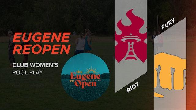 Riot vs. Fury | Women's Pool Play