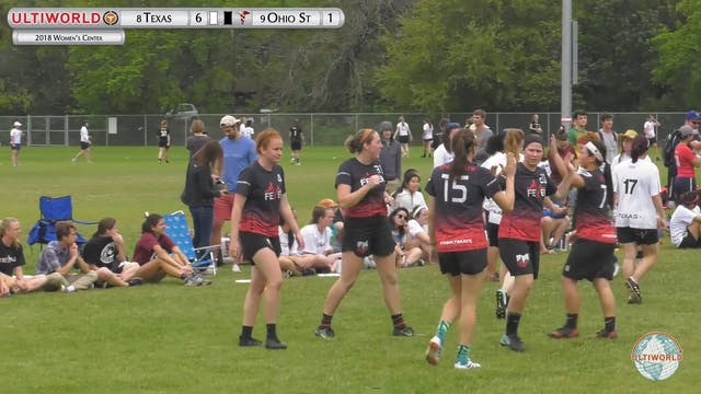 Texas vs. Ohio State | Women's Final ...