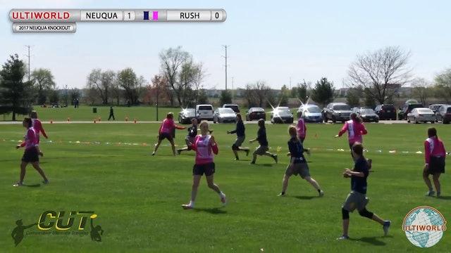 Rush vs. Neuqua Valley | Girl's Pool Play | Neuqua Knockout 2017