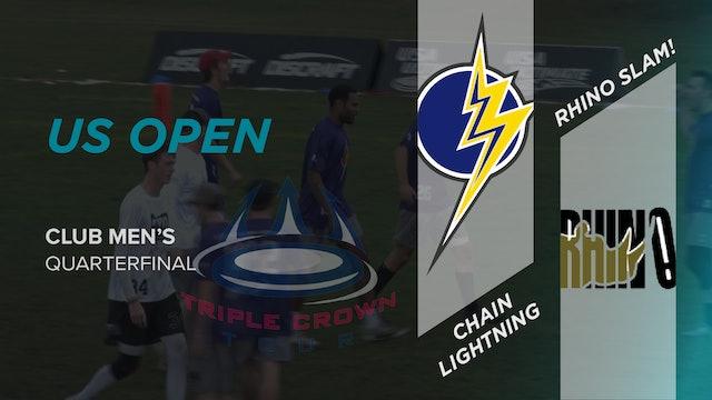 Rhino Slam! vs. Chain Lightning | Men's Quarterfinal