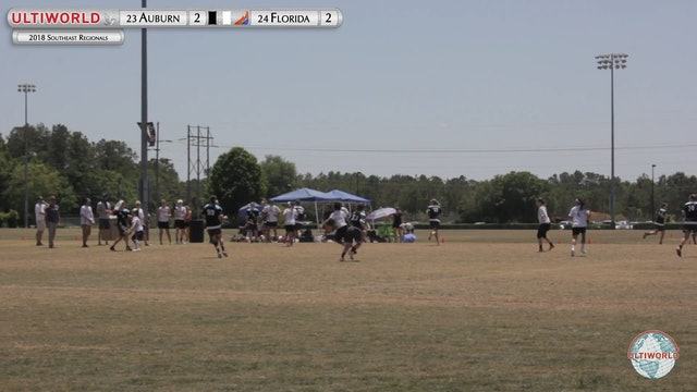 Auburn vs. Florida | Women's Final | Southeast Regionals 2018