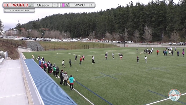 Oregon vs. Western Washington | Women's Round Robin | Bellingham Invite 2018