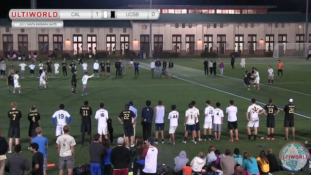 UCSB vs. California | Men's Pool Play...