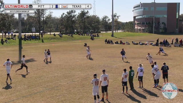Pittsburgh vs. Texas | Men's Match Play | Florida Warm Up 2015