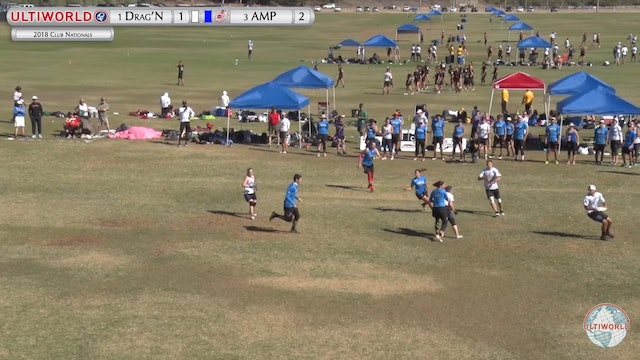 AMP vs. Drag'N Thrust | Mixed Quarterfinal | Club Championships 2018