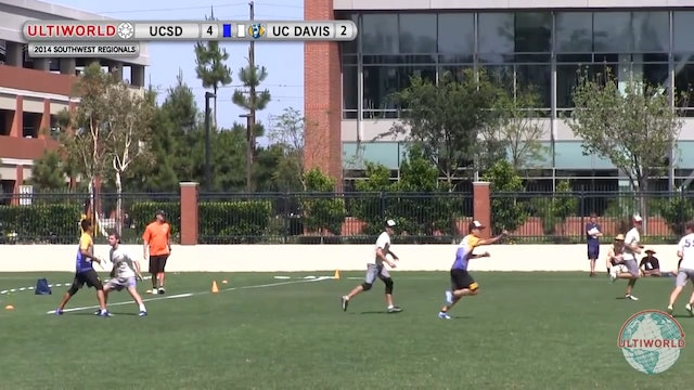 SW Regionals 2014: UC San Diego vs UC Davis (M Final)