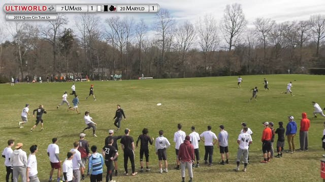 Massachusetts vs. Maryland | Men's Po...