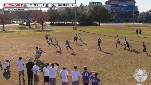 Tufts vs. Northwestern | Men's Match Play | Florida Warm Up 2015