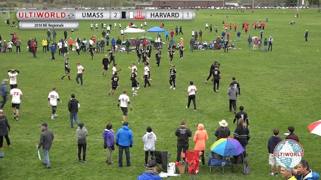 #1 UMass vs #11 Harvard (M Final, 2016 NE Regional)