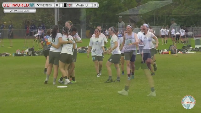 Northwestern vs. WashU | Women's Pool Play | Centex 2018