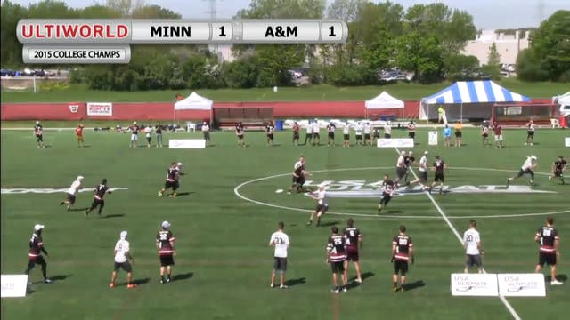 Texas A&M vs. Minnesota | Men's Pool ...