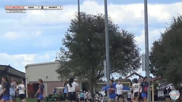 2017 Florida Winter Classic - Dartmouth v Florida (W Final)