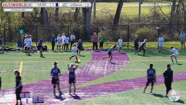 Women's Northwest Challenge 2019: #1 UCSD vs #22 Oregon (W)