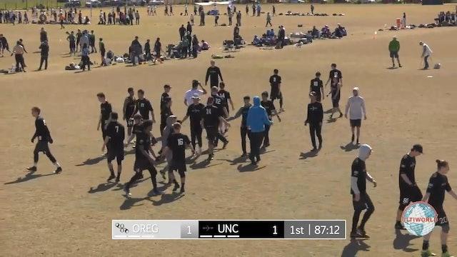 Stanford Invite 2018: #2 UNC v. #4 Oregon (M Semifinal)
