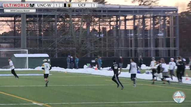 Carolina Kickoff 2018: UNC-W v UCF (M...