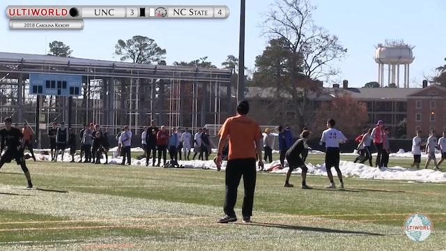 Carolina Kickoff 2018: UNC v NC State (M Round Robin)