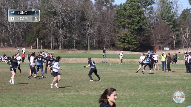 #1 Carleton vs #2 UNC (W Final, 2020 Queen City Tune-Up)