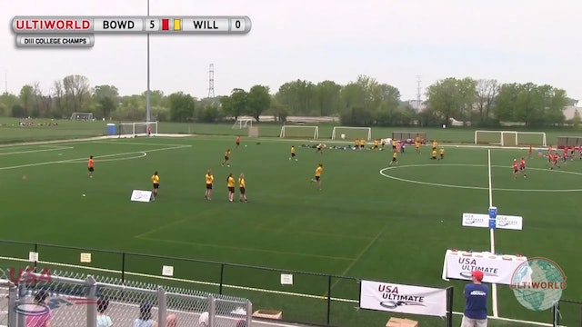 D-III Nationals 2013: Bowdoin vs Williams (W Final)