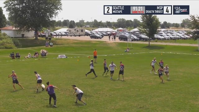 US Open 2018: #3 Seattle Mixtape v #8 Minneapolis Drag'N Thrust (X Pool)