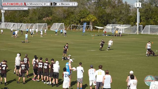 Florida Warm Up 2019: #4 Brown vs. #8...
