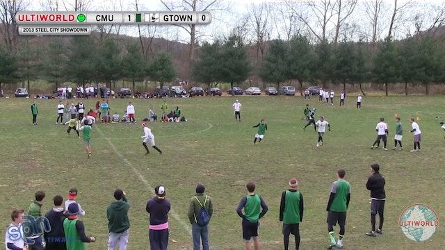 Carnegie Mellon vs. Georgetown | Men's Pool Play | Steel City Showdown 2013