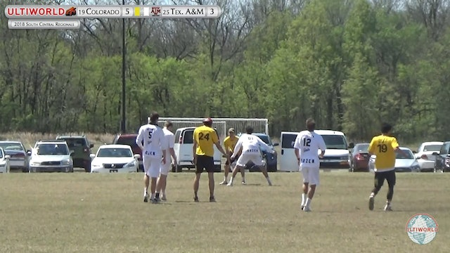 Colorado vs. Texas A&M | Men's Semifinal | South Central Regionals 2018