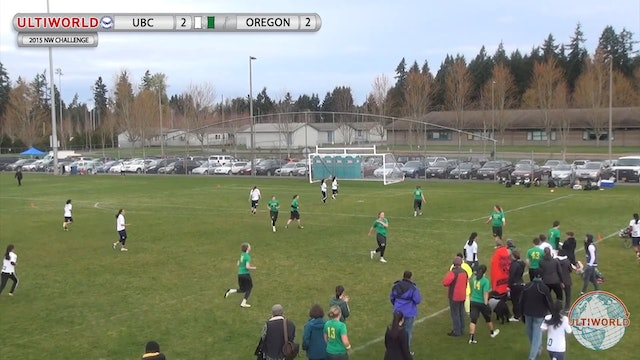 Northwest Challenge 2015: British Columbia v Oregon (W)