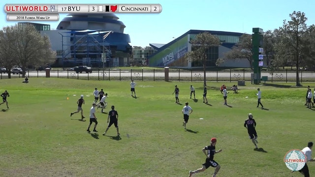 Florida Warm Up 2018: #17 BYU v Cincinnati (M Pool)