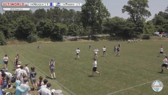 Paideia Cup 2018: Neuqua Valley [IL] vs Paideia [GA] (G)