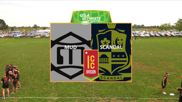 US Open: Scandal v. MUD (W Pool Play)