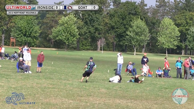 GOAT vs. Ironside | Men's Final | Northeast Regionals 2013