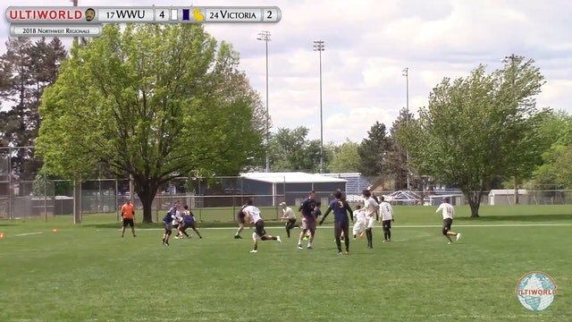 W. Washington vs. Victoria | Men's 3rd Place Final | Northwest Regionals 2018