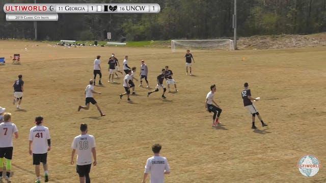Georgia vs. UNC Wilmington | Men's Po...