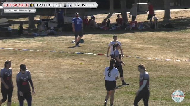 Traffic vs. Ozone | Women's Pool Play...