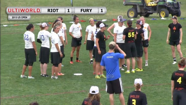 Riot vs. Fury | Women's Pool Play | U...