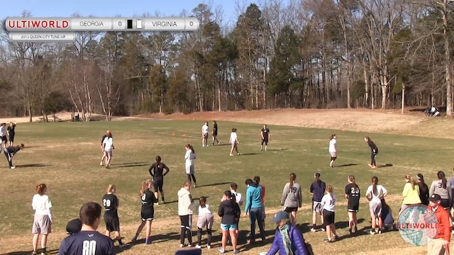 Queen City Tune Up 2015: Virginia v Georgia (W Quarter)