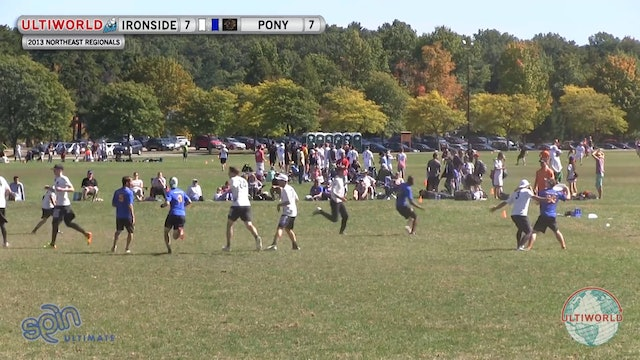 PoNY vs. Ironside | Men's 2nd Place Final | Northeast Regionals 2013