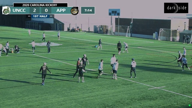 UNC Charlotte vs Appalachian State (M Pool Play, 2020 Carolina Kickoff)