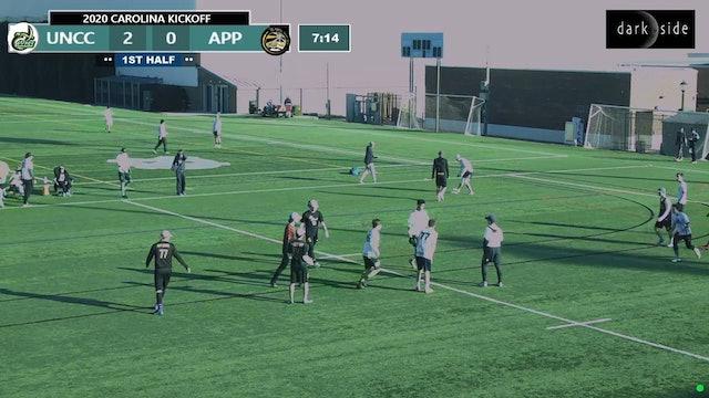 UNC Charlotte vs. Appalachian State | Men's Pool Play | Carolina Kickoff 2020