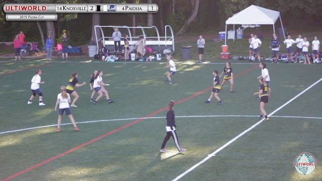Knoxville vs. Paideia | Girl's Pool Play | Paideia Cup 2019