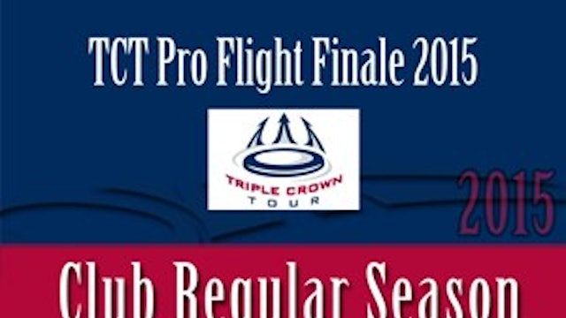 Pro Flight Finale 2015 (Women's/Men's/Mixed)